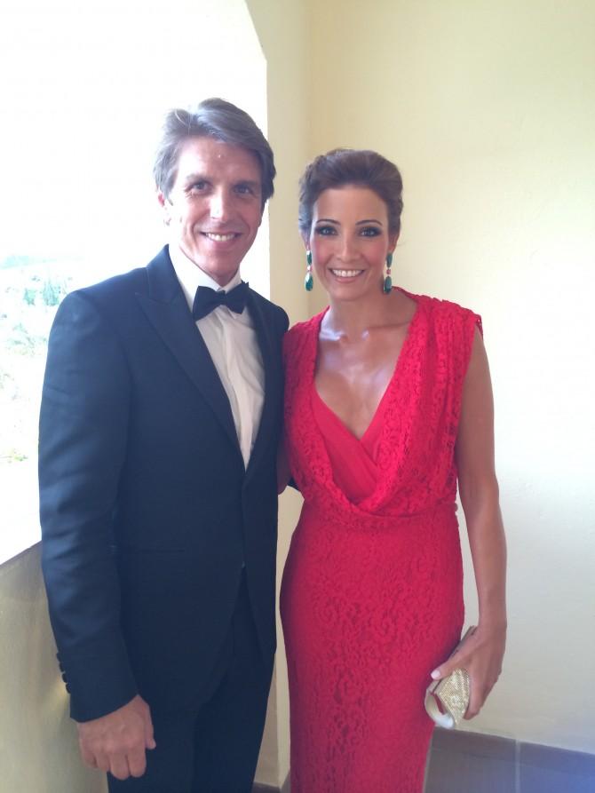 Backstage Gala Starlite con Virginia Troconis