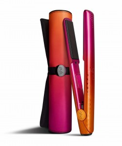 ghd Coral styler and bag RGB