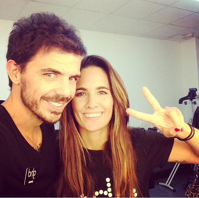 Jesús de Paula y Natalia Belda responsables de todos los peinados de Blanca Suárez