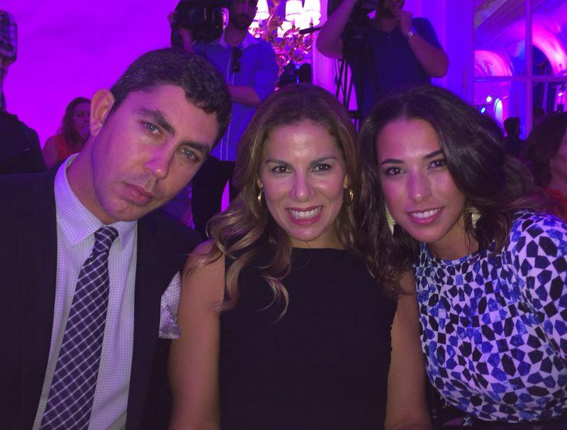 Adriano Silva, Laura Carandini y Fara