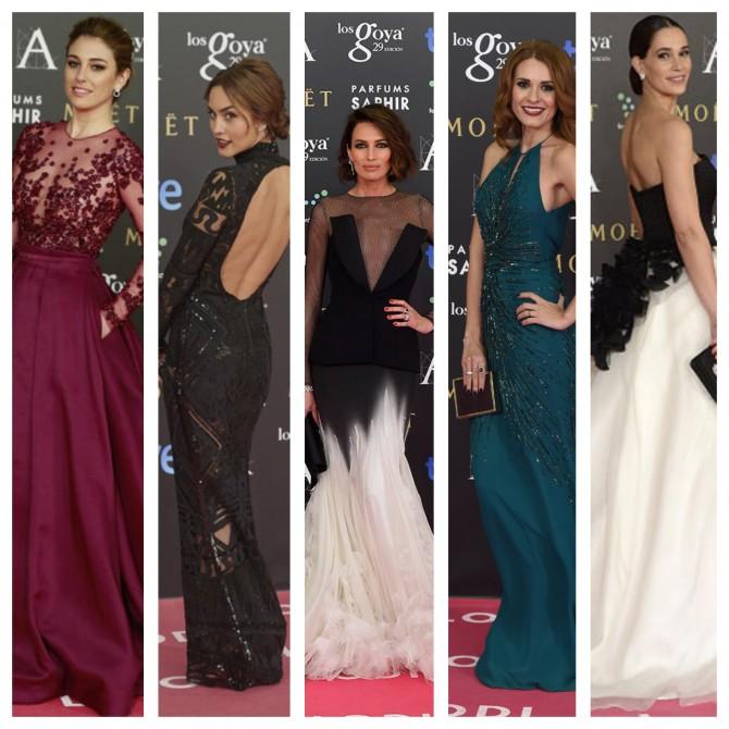 Backstage Premios Goya: los mejores looks de belleza