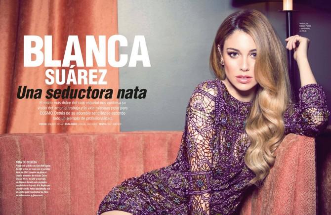 Blanca Suárez en Cosmopolitan con looks ghd (I)