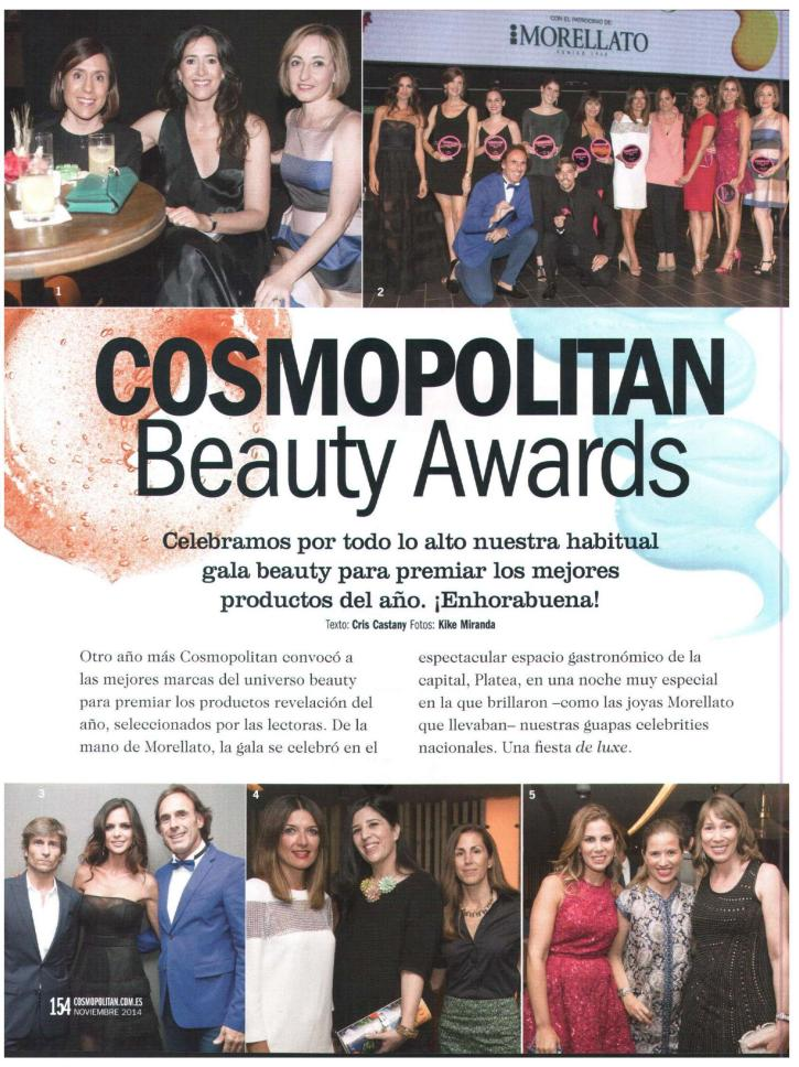 Premios Cosmopolitan Belleza laura carandini