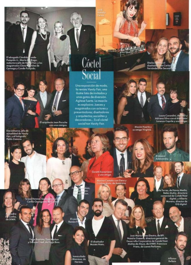 PRESS: REVISTA VANITY FAIR Diciembre 2014
