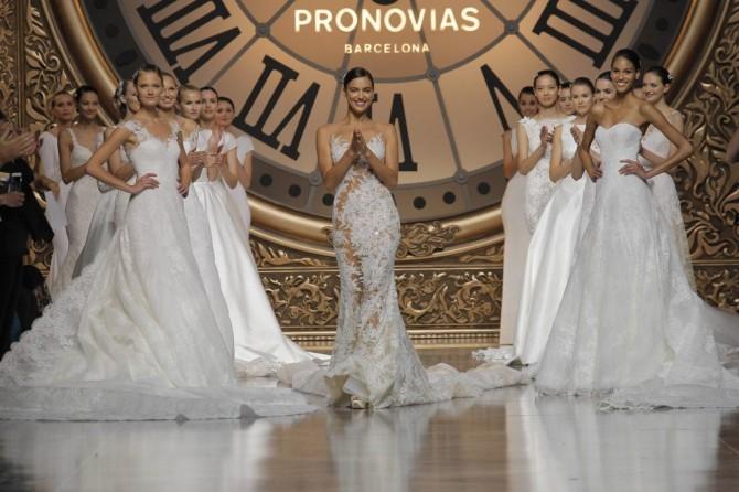 Desfile Pronovias 2016 y fiesta VIP
