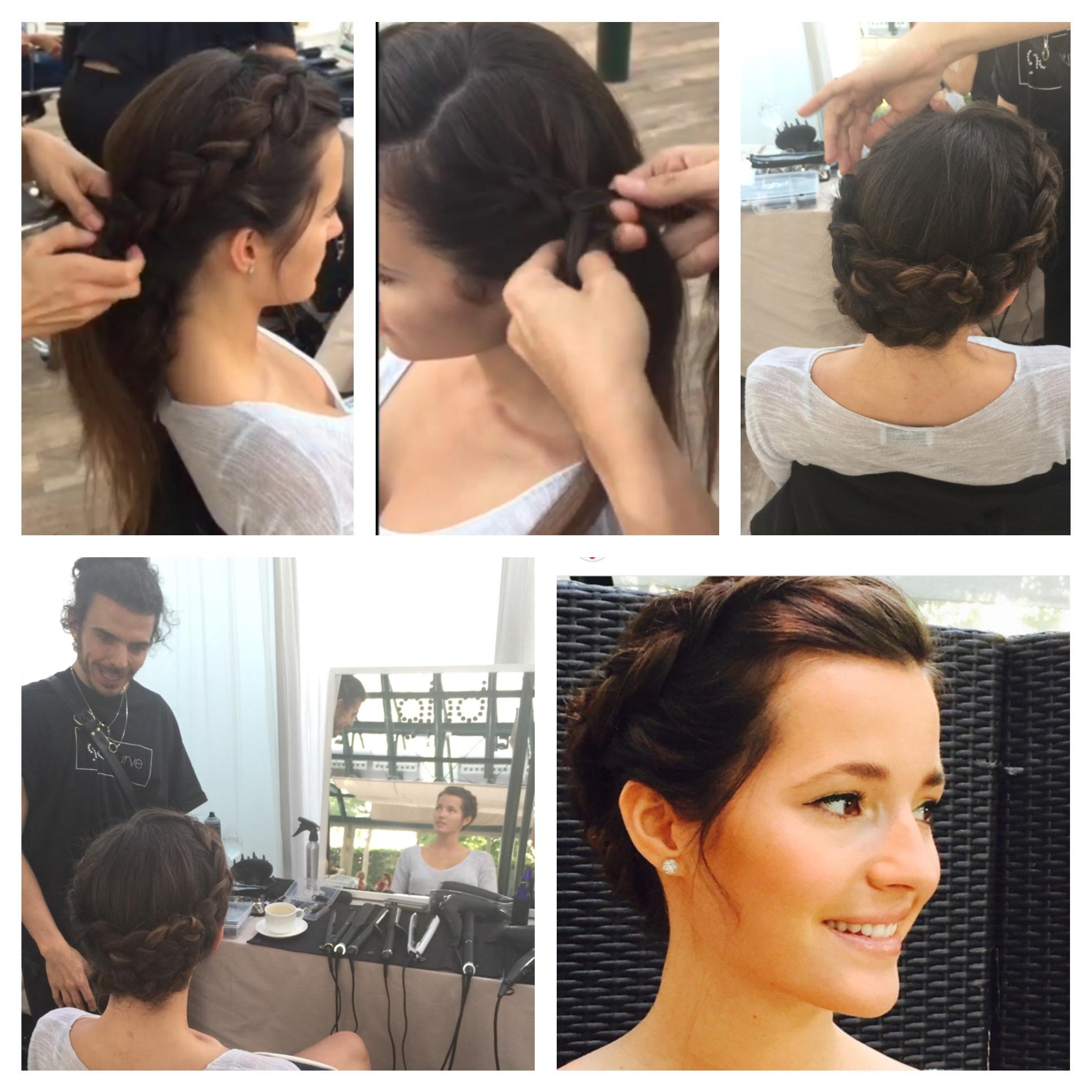 Beauty look: Malena Costa