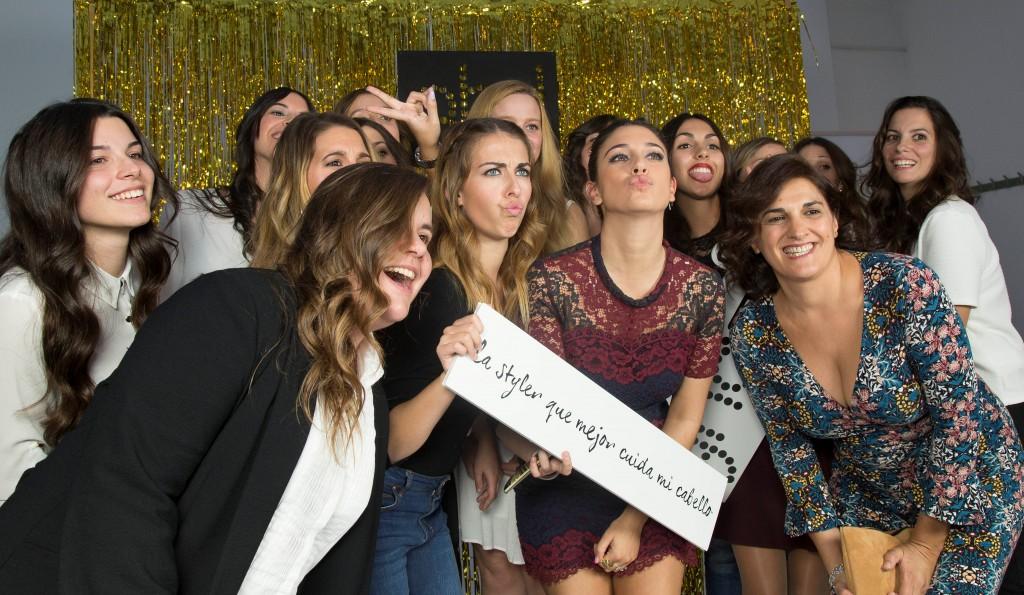 Ganadoras Concurso ghd y Blanca Suárez