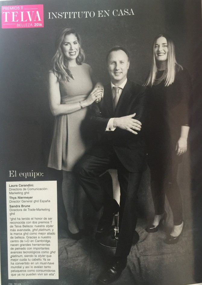 PRESS: REVISTA TELVA MARZO 2016