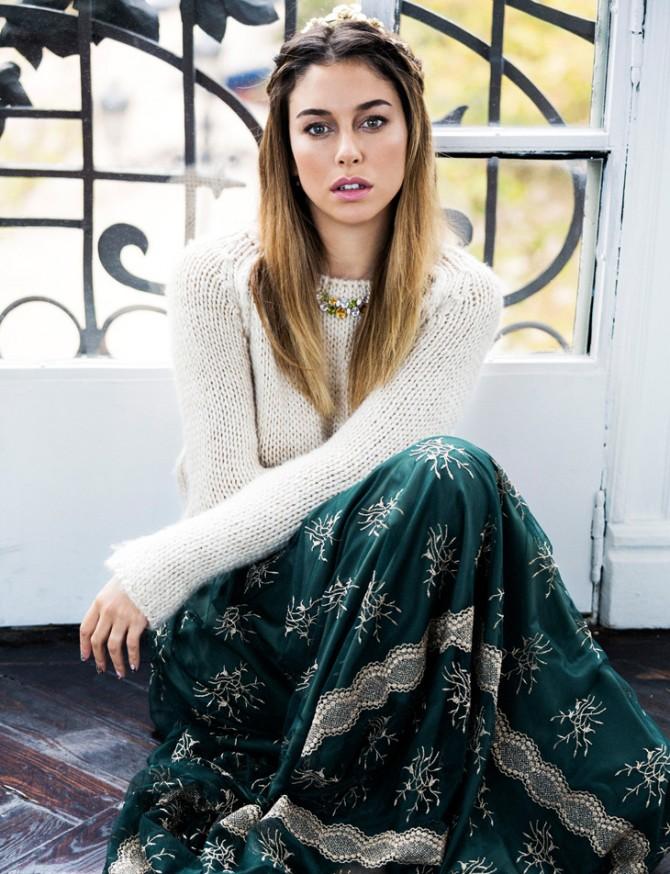 Consigue el look de Blanca Suárez: corona de trenzas