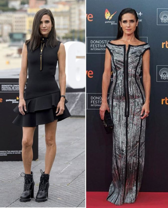 Jennifer Connelly acertadísima con sus looks Louis Vuitton