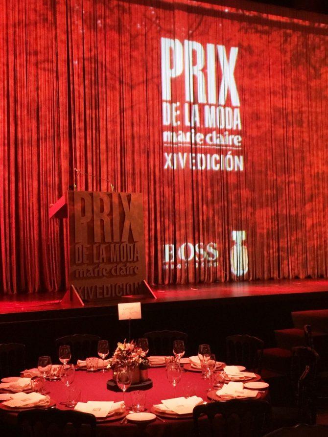 Los XIV Prix de la Moda by Marie Claire