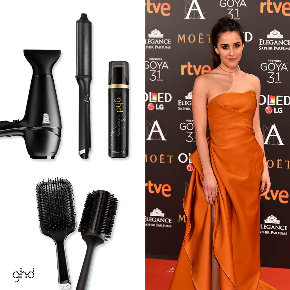Goya_2017_beauty_looks_ghd_MACARFENA_GARCIA_nonstopfab
