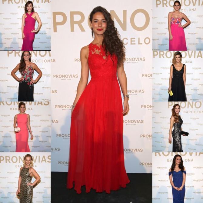 Backstage de las celebrities invitadas a Pronovias Fashion Show 2018