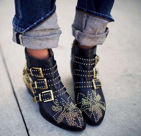 Fashion Alert: los botines con tachuelas